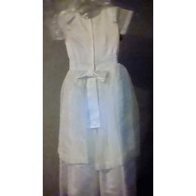 Vestido Blanco Comunión Bautizo Para Boda