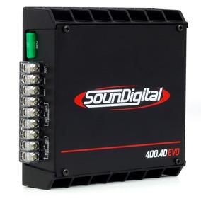 Modulo Som Digital 400 Evo Ii 4 Canais Potencia 400w Rms
