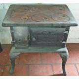 Antigo Fogão De Ferro - Fundimig (lareira Salamandra Forno)