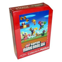 Rompecabezas Puzzle Nintendo Súper Mario Bros Wii