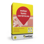 Pegamento Ceram Weber Basic X 30 Kg Proyectar Materiales