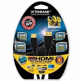 Cable Hdmi A Mini Hdmi 3 Pulgadas 74003 Somos Tienda Física