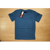 Camiseta Tommy Lisa Infantil Menino Várias Cores Promoção