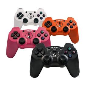 Joystick Noga 3004 Ps2 Playstation 2 Dualshock Colores Gtia