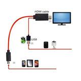 Minidog Mhl 11 Pines Micro Usb A 1080p Cable
