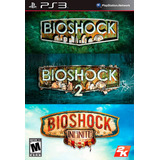 Bioshock Trilogy Ps3 Digital | Incluye 3 Juegos Tenelo Choko