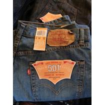 Pantalon Levis 501 Azul Cielo