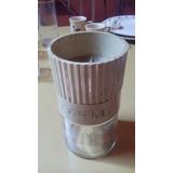Molinillo De Café Manual Retro - Plástico Y Vidrio
