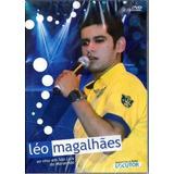 Dvd Leo Magalhães Ao Vivo Em São Luis Do Maranhão (lacrado)
