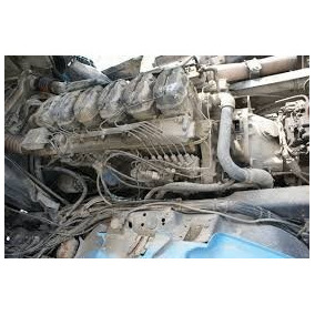 Bloco Do Motor Scania 124 360 Mecânico, Cabeçote Scania 124