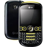 Celular Lg C300 Qwerty, Camera 2mp, Radio, Mp3 E Bluetooth
