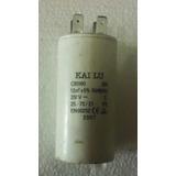 Capacitor Bomba De Agua 1/2 Hp (12 Mf / 250 Vac)