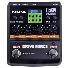 Pedal Drive E Booster Nux Para Guitarra Drive Force