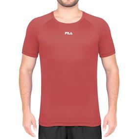 Camiseta Fila Bio - Vermelha Garanta Já A Sua e9199d9b1d