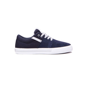 Zapatillas Supra Stacks Vulc Ii Navy/lt Gre (58193- Sp081116