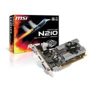 Placa De Video Nvidia Msi  Geforce 200 Series 210 1gb Ddr3