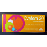 Anticonceptiva Evafem 20