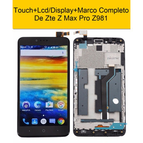 Zte Z Max Pro Z981 Touch+lcd/display+marco Sin Riesgos