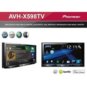 Dvd Player Pioneer Avh-x5880tv 598tv 2din Bluetooth Tv Waze