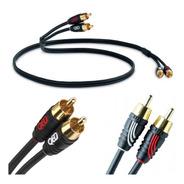 Cable Audio Stereo Qed Profile Precision 2 Rca A 2 Rca P2p