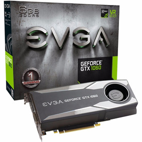 Placa De Vídeo Evga Gtx 1060 6gb Blower Ddr5 06g-p4-5161-kr