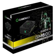 Fonte Gamemax 600w Gm 600 80 Plus Bronze