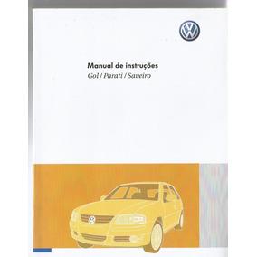 Manual Proprietário Gol Parati Saveiro G4 2010 C/suplementos
