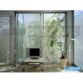 Adesivo De Parede Decorativo Floral Bambu