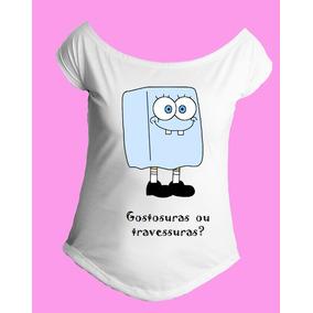 Camiseta Allsgeek Gola Canoa Halloween Bob Esponja 01
