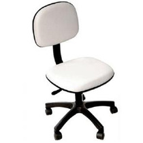 Promoção De Cadeira Secretária Giratória Branca Tsmob