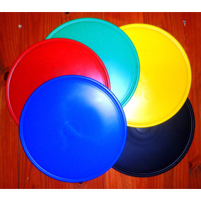 Tablas Para Pizza Polipropileno Vs. Colores 6 Und $ 150