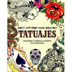 Libro Artistico Para Colorear Tatuajes ( Mandalas )-parragon