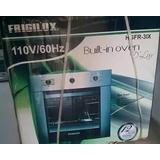 Horno A Gas Y Electrónico Modelo: Hgfr-3ix Marca Frigilux
