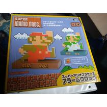 Super Mario Bros Reloj Despertador Taito Watch