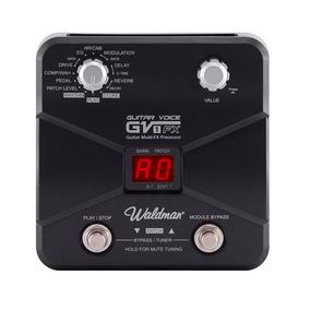 Pedal De Efeito Waldman Para Guitarra Gv 1fx