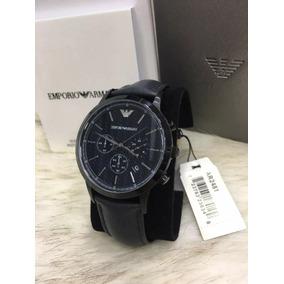 8156382b371 Relógio Tcv1198 Emporio Armani Ar2481 Preto Mod 2018 Caixa. R  497. 12x R   41 sem juros