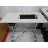 Mesa Para Máquina De Costura Doméstica Móvel Gabinete