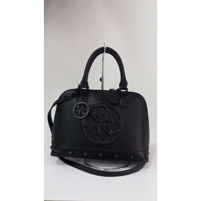 Bolsa Guess Korry Small Dome Satchel Preto Importada Origina