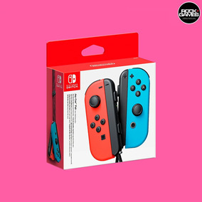 Joy-con Neon (l/r) - Red Blue Nintendo Switch Novo - Lacrado