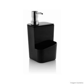 Dispenser Para Detergente 650ml Preto Ou Ou