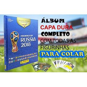 Álbum De Figurinha Copa Da Rússia 2018 - Capa Dura Completo