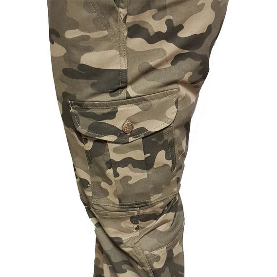 Pantalón Cargo Brok, Super Cómodo, Elastizado, By Pampero