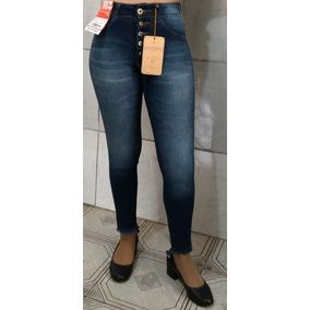 Calça Jeans Fem Cintura Alta C/ Botões Biotipo 20796