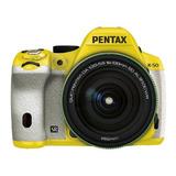 Camara Pentax K-50 16mp Digital Slr 18-135mm Lens Kit Yel