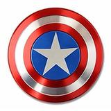 Spinner Escudo De Capitan America Doble Vista Metálico