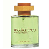 Perfume Mediterráneo 200ml Antonio Banderas Mas 100%original