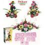 3 Kits Moldes Para Hacer Flores De Foamy