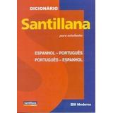 Dicionário Santillana Para Estudantes Con Cd-rom - Espanhol