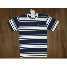 c5e6bf4d553 Bolsa Branca Lacoste - Camisetas Manga Curta para Masculino no ...