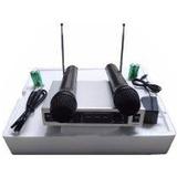 Microfono Inalambricos Audesbo Original 30 Mts, Planta Power